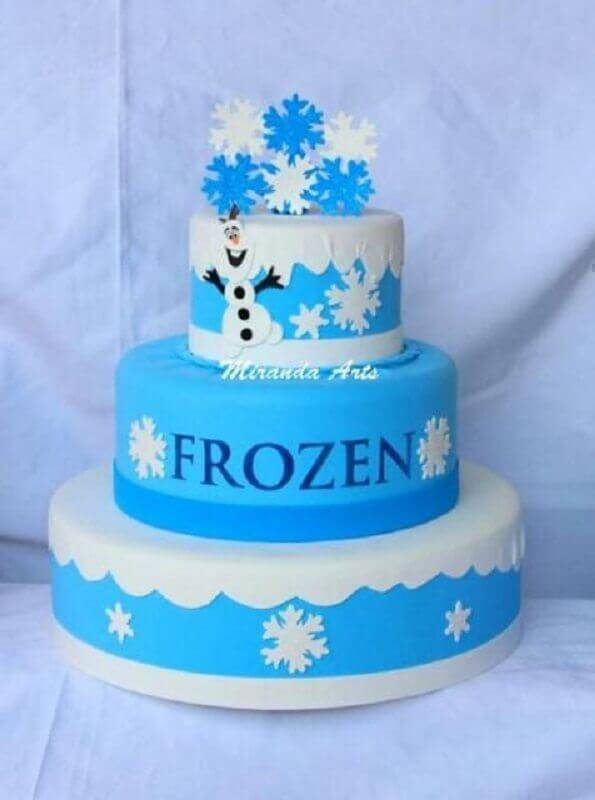 frozen Foto Assetproject fake cake