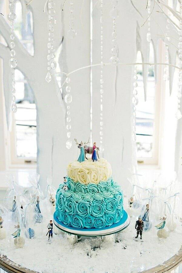2 storey frozen whipped cream cake Photo Hello Wonderfull