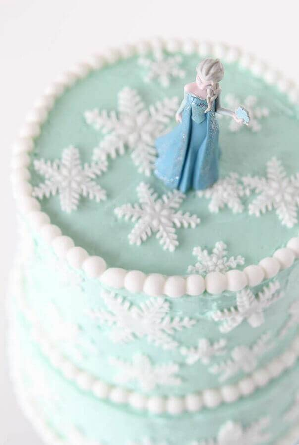 elsa as frozen Foto Pinterest cake top