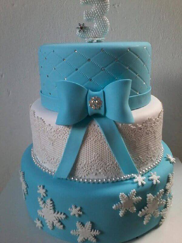Frozen Photo Elo7 Fake Cake Model