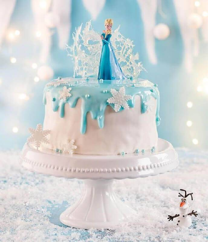 frozen Foto Pinterest cake top model