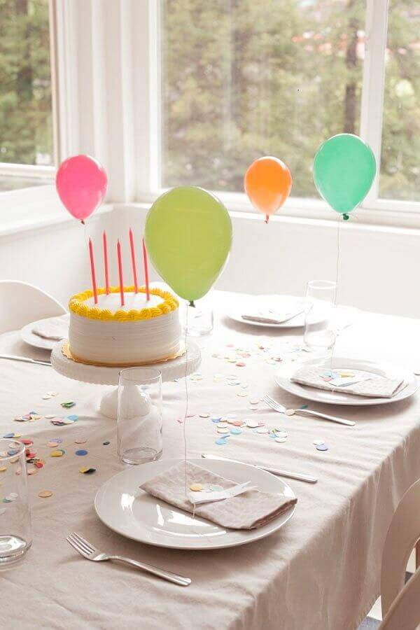 simple and cheap surprise party at home Foto Pinterest