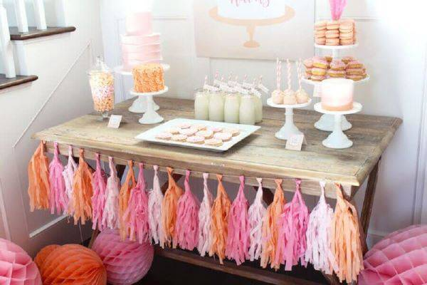 Ideas for having a party at home