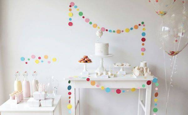 Clean and beautiful party at home