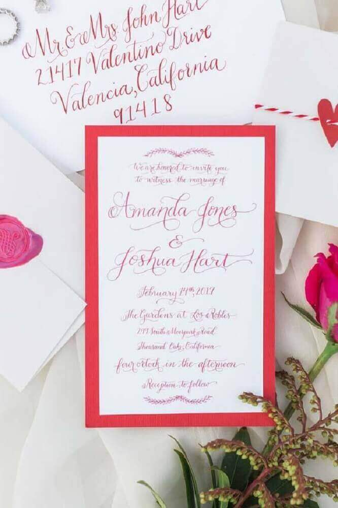 simple and modern wedding invitation colors
