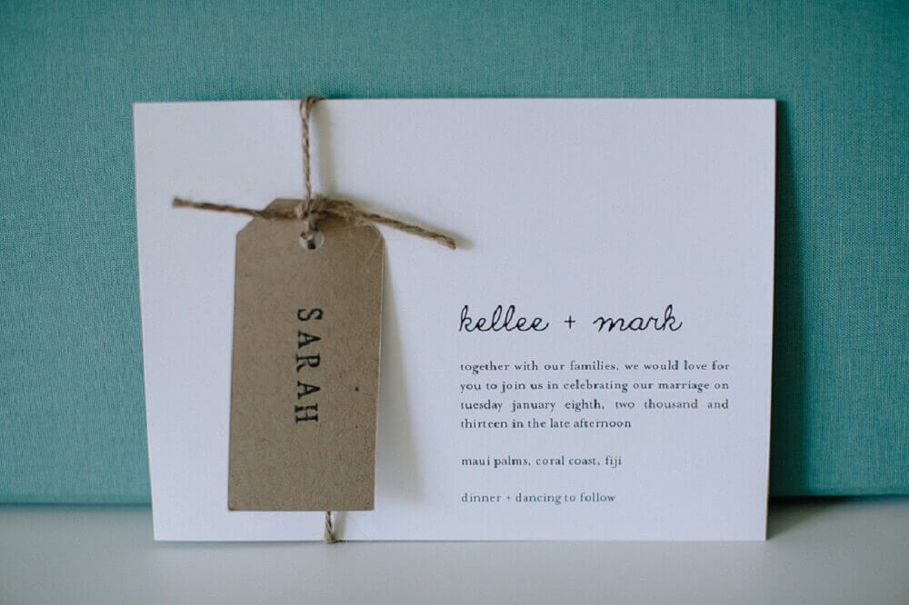 cheap and simple wedding invitation model