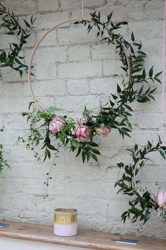 decoration with flowers to decorate your birthday party