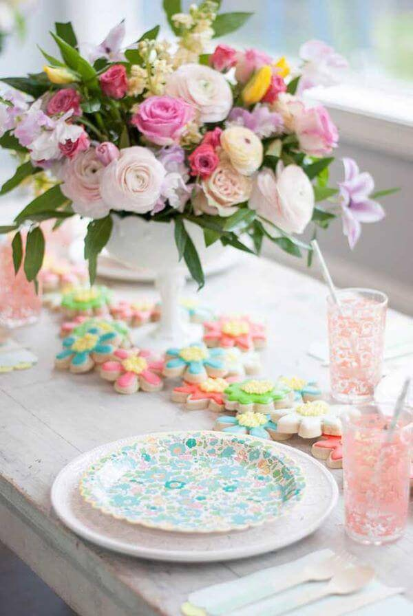 Colorful flowers for home decoration