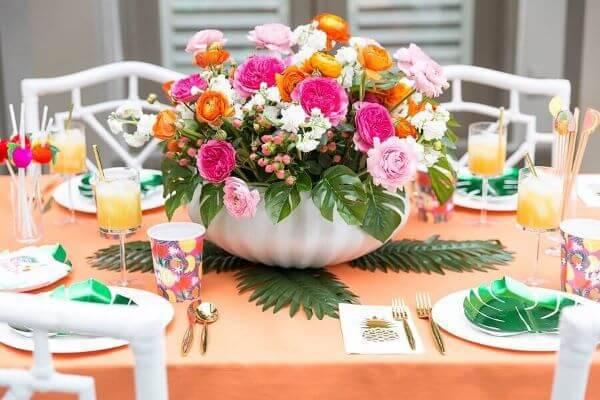Artificial birthday flower decoration