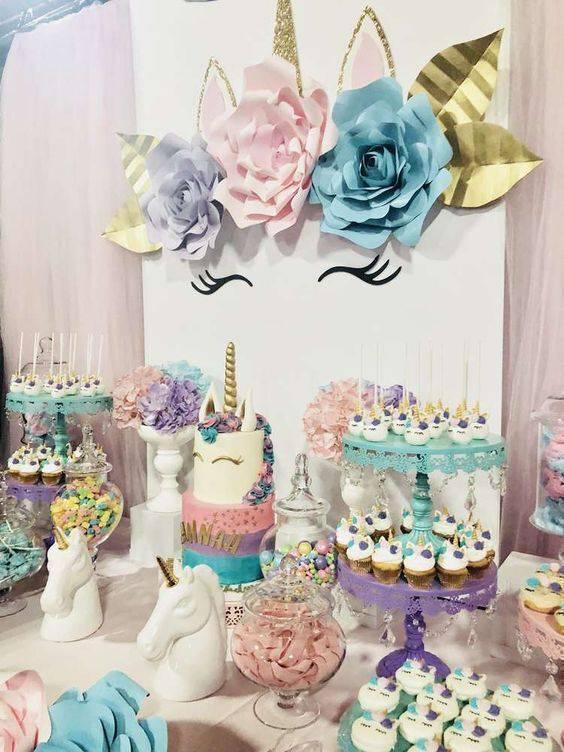 Unicorns birthday party