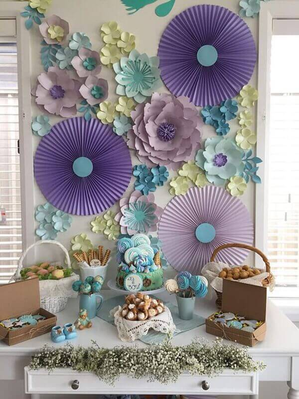 Giant flower for home party decoration
