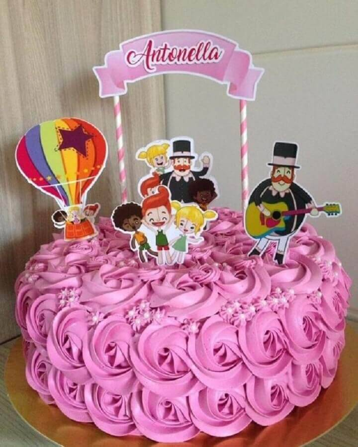 party cake world bita simple pink Photo Parties biz