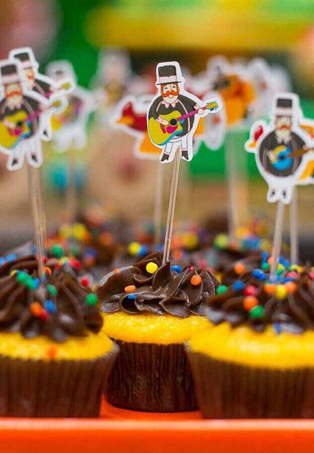 decorated cupcake for world party bita Photo House and Party