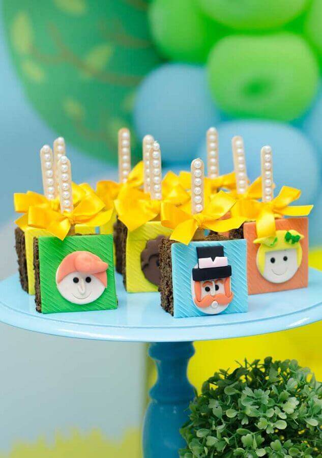 decorated sweets for children's party world bita Foto Pinterest
