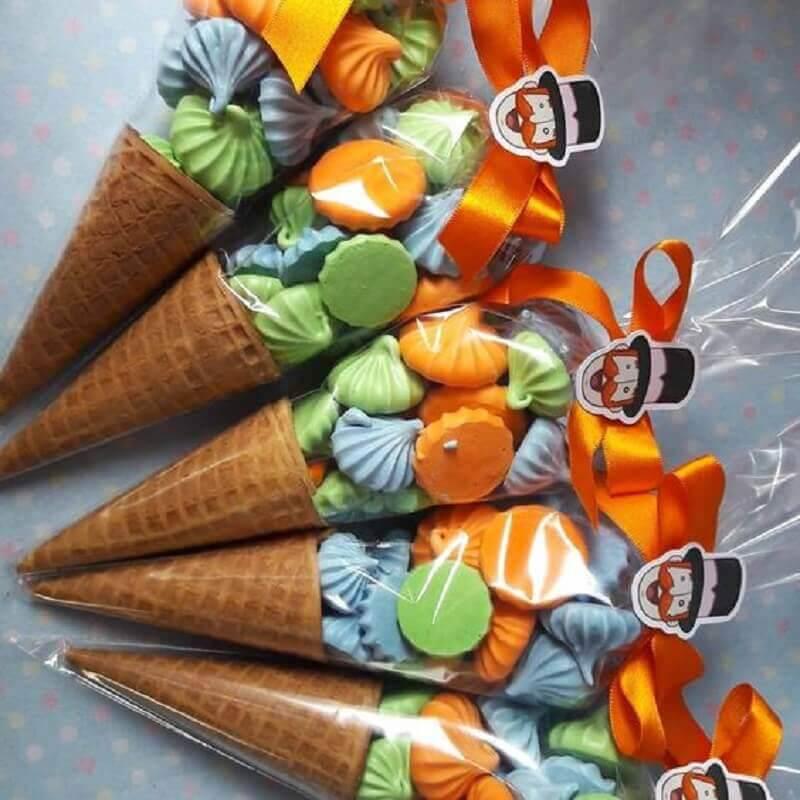 idea of a souvenir for a simple world party Photo Pinterest