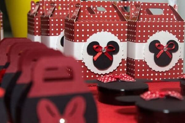Little red minnie party souvenirs