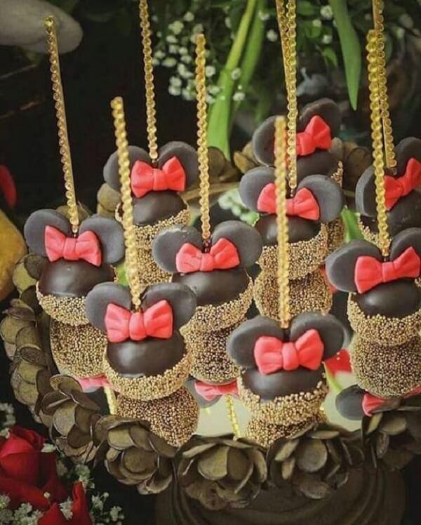Minnie's party cakepops