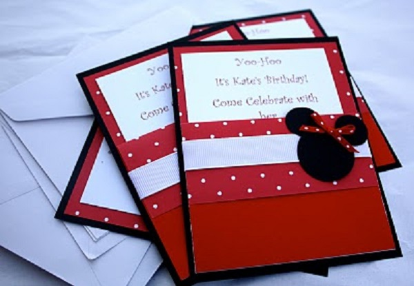 Invitations to Minnie's party