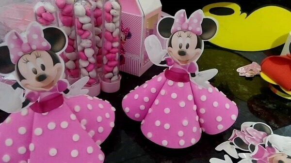 Tubes with Minnie clothes