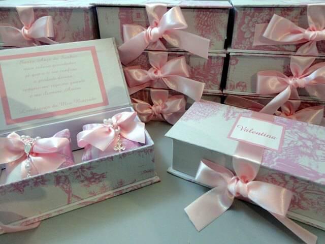 Souvenir box for christening