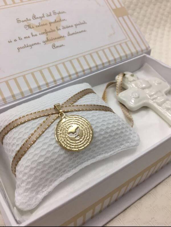 Personalized baptismal souvenir for godparents