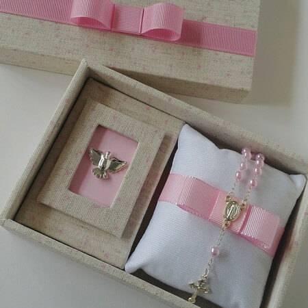 Mini rosary christening souvenir