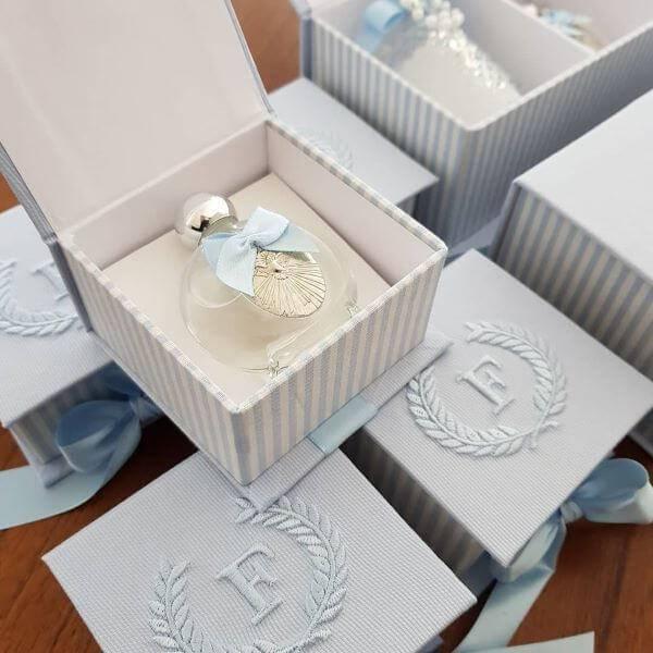 Baptismal souvenir for a boy