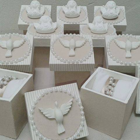 Customized boxes for christening