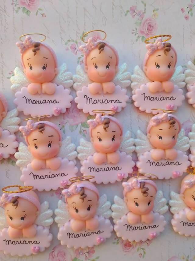 Simple christening souvenirs