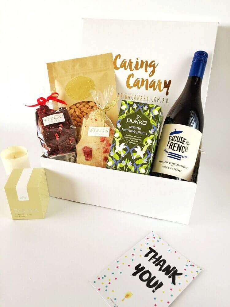 simple box party - Foto Caring Canary