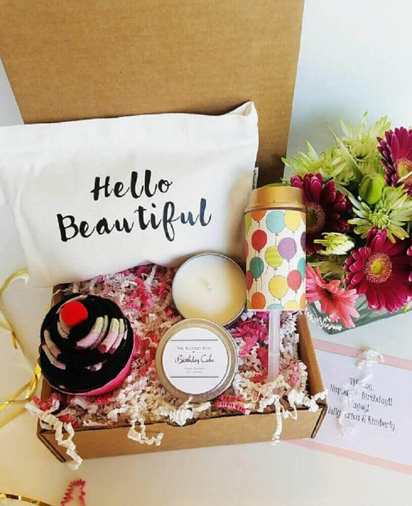 simple and small party model in the box - Foto Gift Ideas