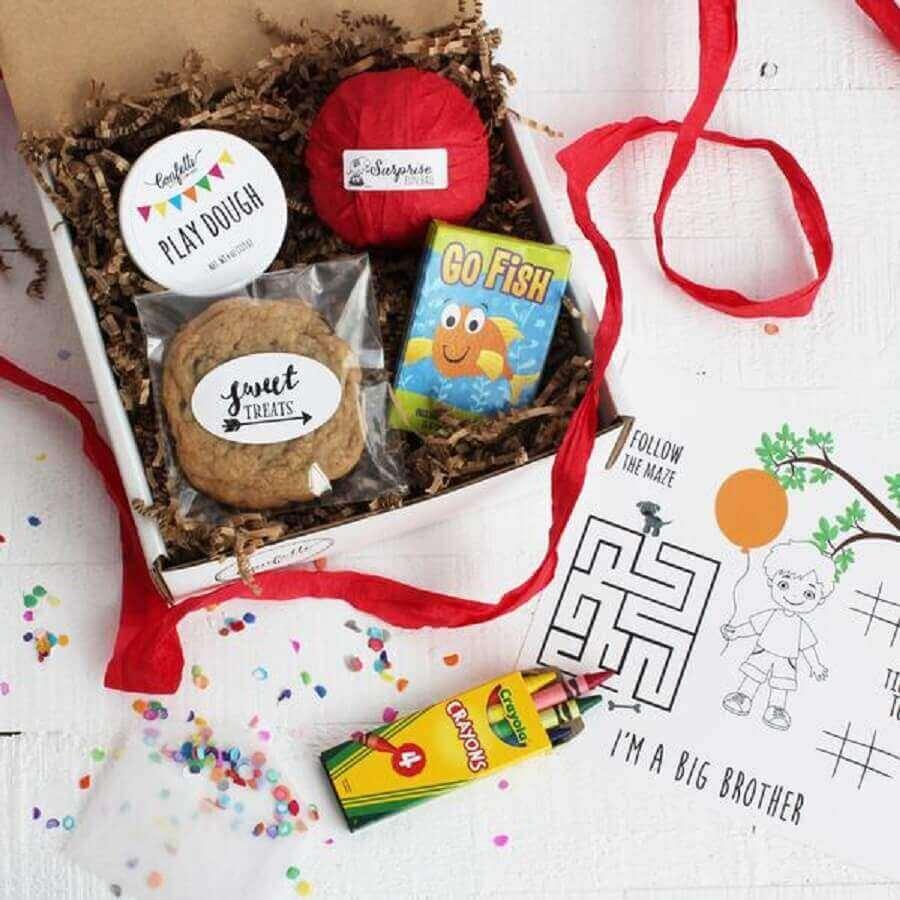 simple party model in the children's box -Foto confetti gift company