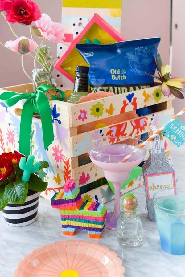 Tips on how to throw a party in the box