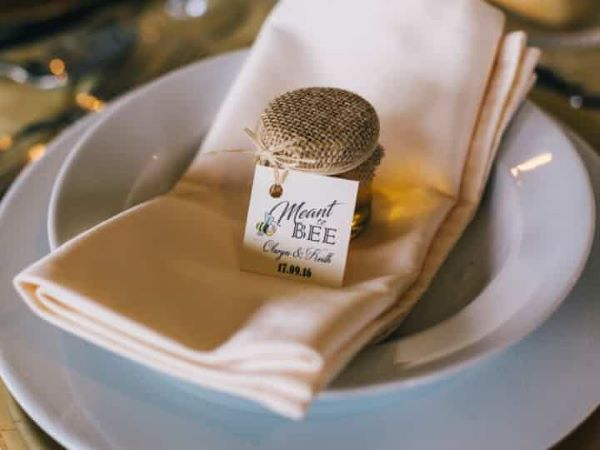 Wedding honey table souvenir