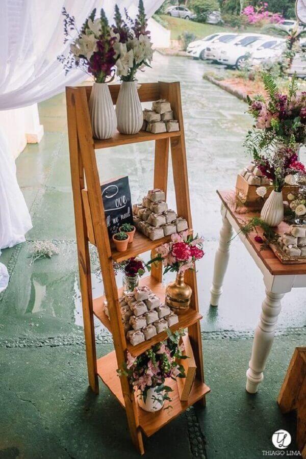 souvenirs for crystal wedding party Photo Casa das Amigas