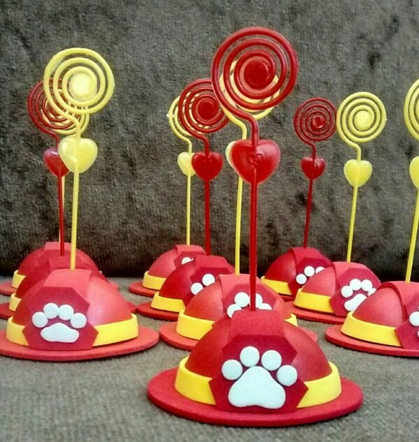 EVA souvenir for party with Canine Patrol theme