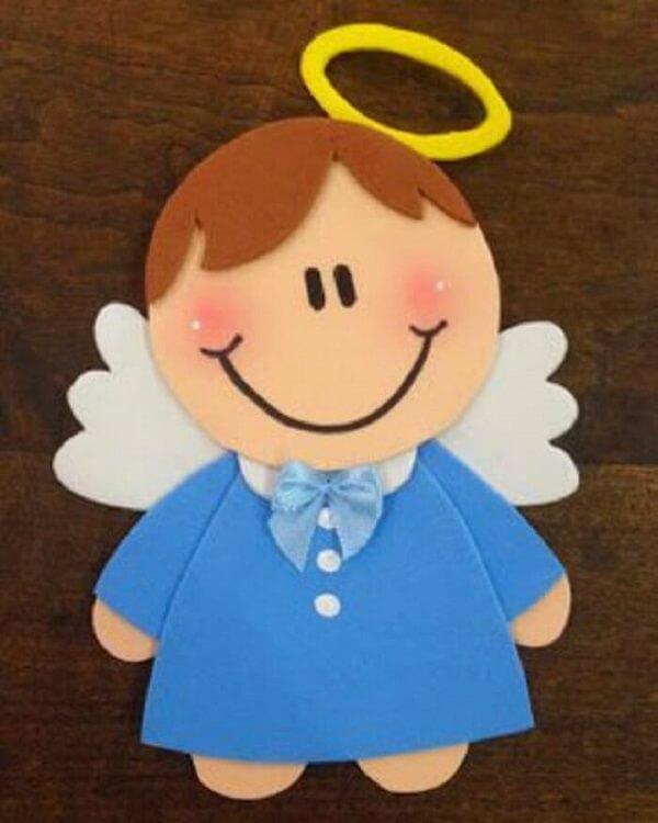 Little souvenir of a little angel-shaped eva christening