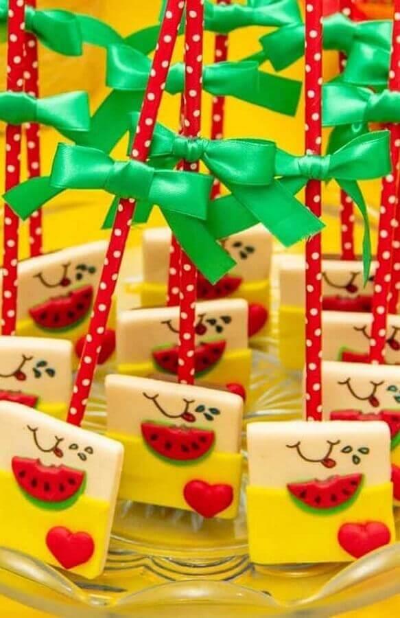 custom candy idea for magali children's party Foto Webcomunica