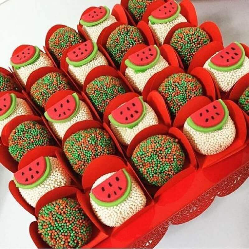 ideas of decorated candies for magali party Photo My Little Party
