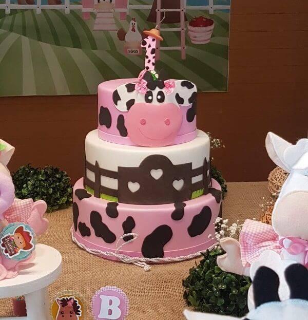 Fake cake model farm