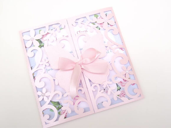 Invitation garden enchanted with empty packaging Photo of T&T Art