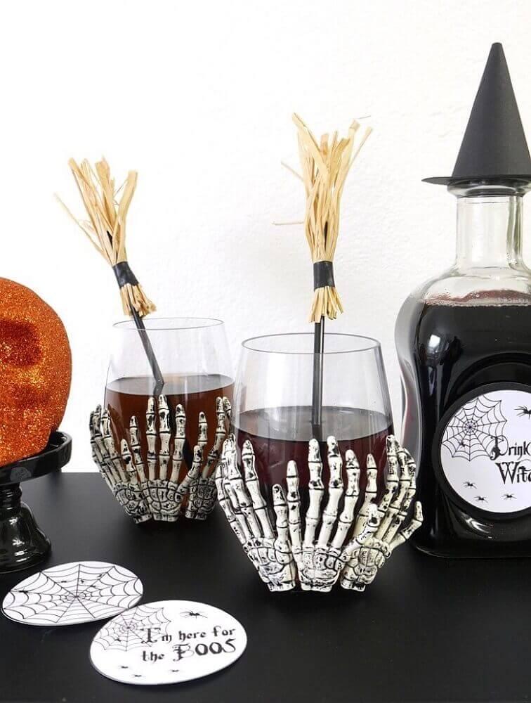 custom glasses for halloween party Foto Pinterest