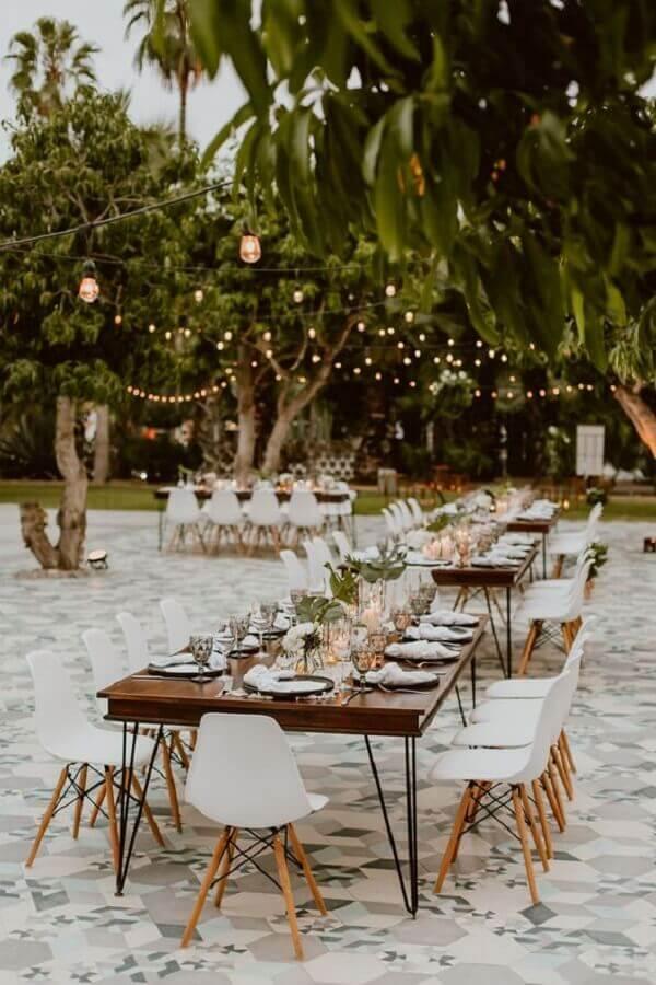outdoor wedding party Photo WeddingWire
