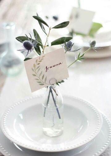 Christmas table flowers