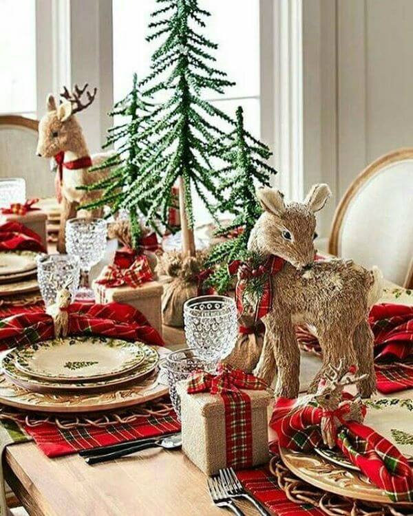 Beautiful details for the Christmas table