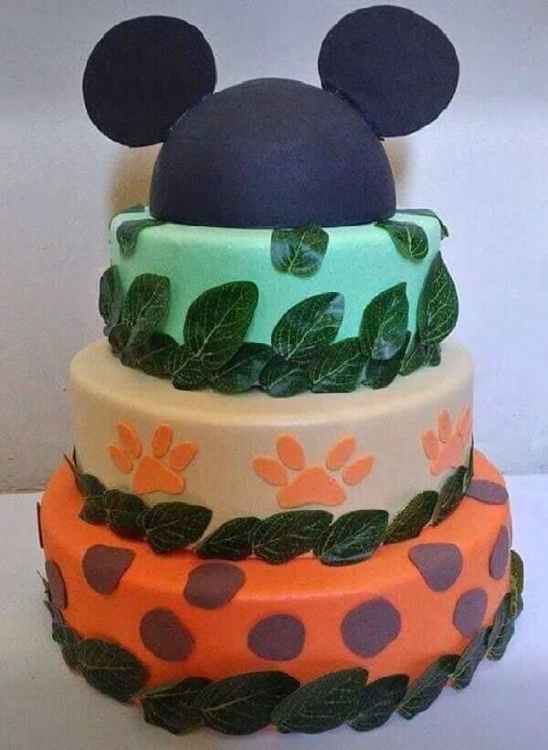 Mickey fake cake model