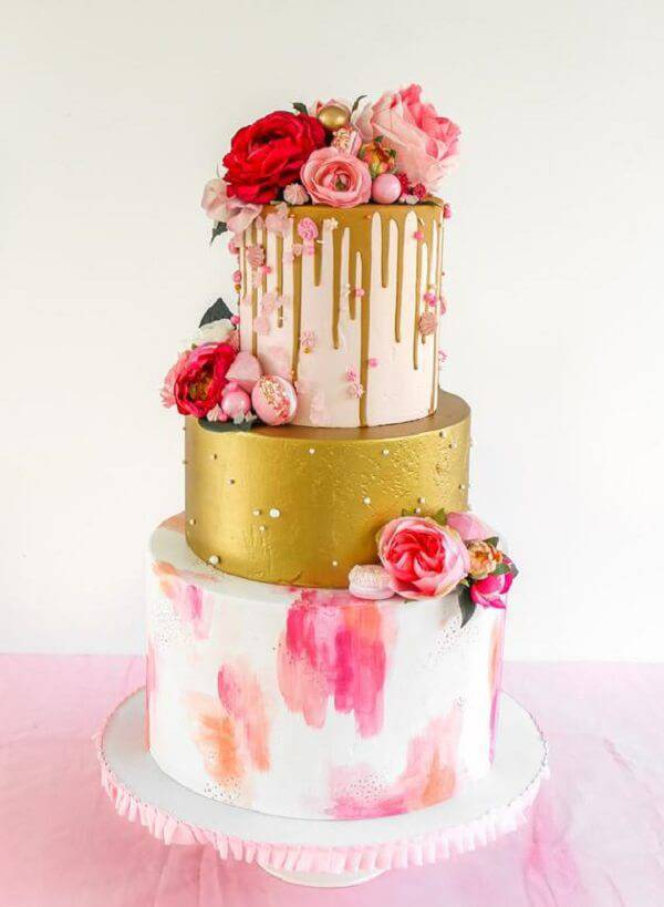 Creative cake fake model