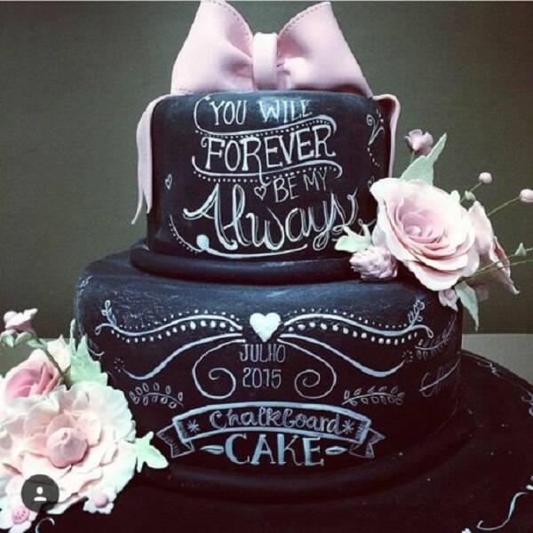 Wedding cake fake model