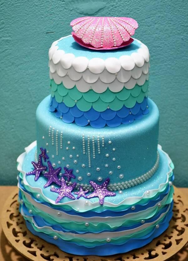 Mermaid Cake Model in Eva