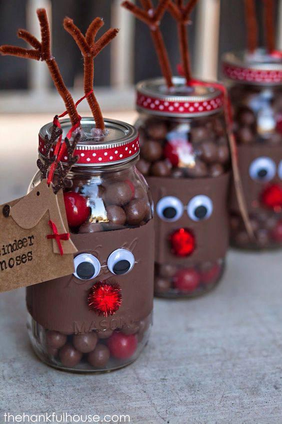 chocolate balls as a Christmas souvenir
